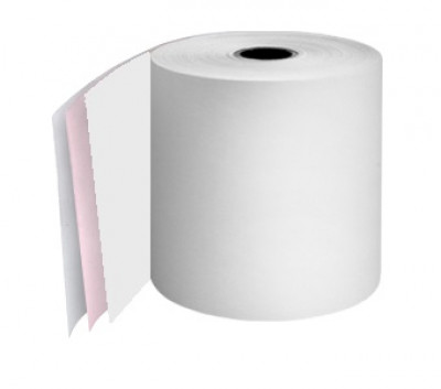 76mm 3ply 12.7mm Core White/Pink/White rolls Boxed 20s - TRD063